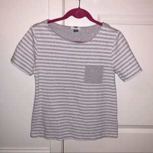 Old Navy Striped Pocket T-Shirt